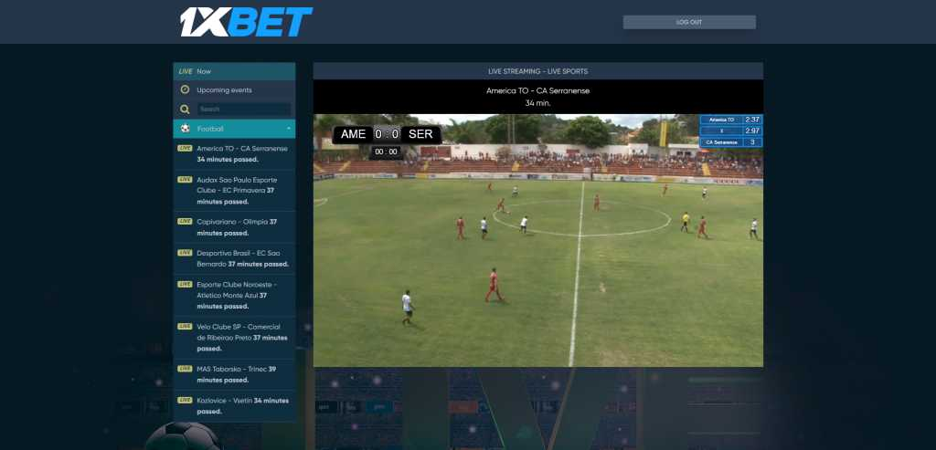 Guardate 1xBet mobile sport streaming online come football
